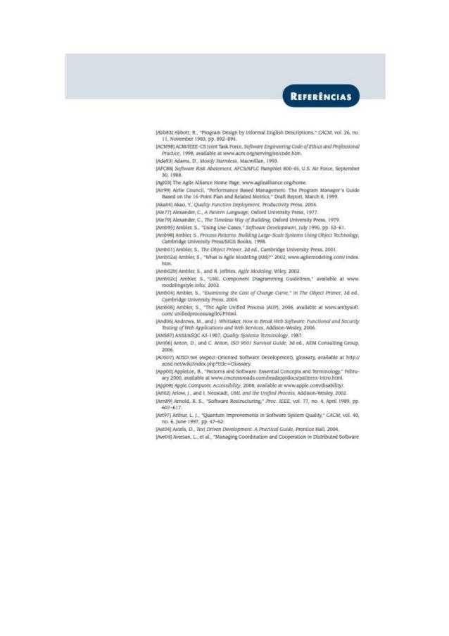 Engenharia de software 7° edição roger s.pressman referência