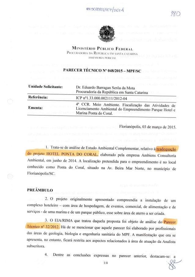 'FRCíÇCPOÇl(ÉÍY_Í'73/20i 4'     MINISTÉRIO PÚBLICO FEDERAL PRO( lÍR. ~l)(Jll| .› DA RFP| JlXl. l('s FM SANTA CATARINA . -S...