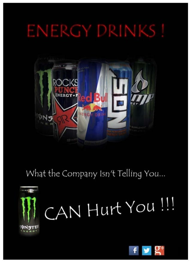 PreambleWith the ever increasing popularity of energy drinks, there are a shocking number of youngerathletes using Monster...