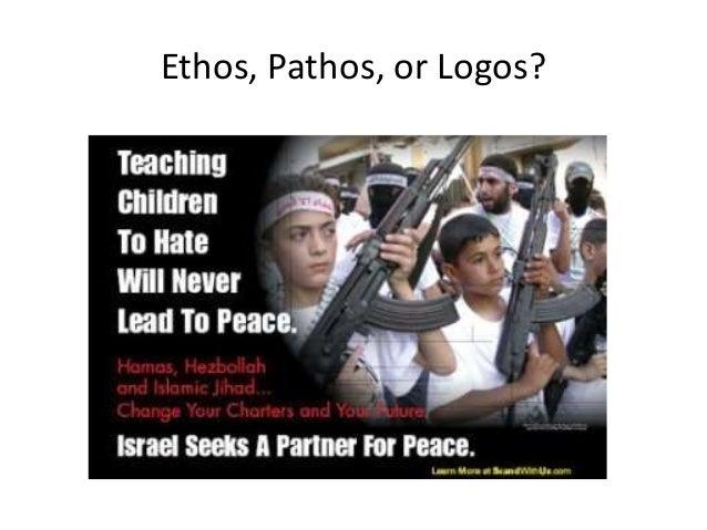 argumentative essay ethos pathos logos