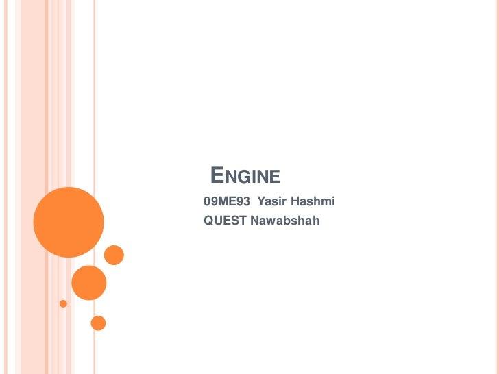 ENGINE09ME93 Yasir HashmiQUEST Nawabshah