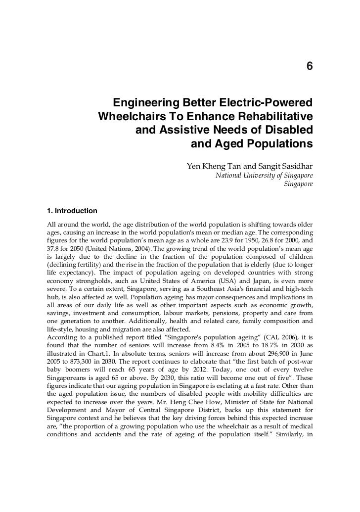 Engineering Better Electric Powered Wheelchairs To Enhance Rehabilitative And Assistive Needs Of Disabled And Aged Populations