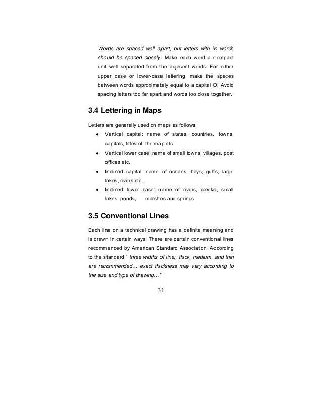 Purpose of Engineering Drawings 31 Words Are Spaced Well Apart