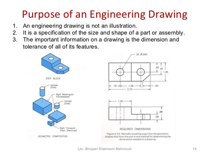 the importance of engineering drawing Technical drawing it is given a narrower definition in the context of technical drawing engineering drawings generally deal with mechanical engineered items.