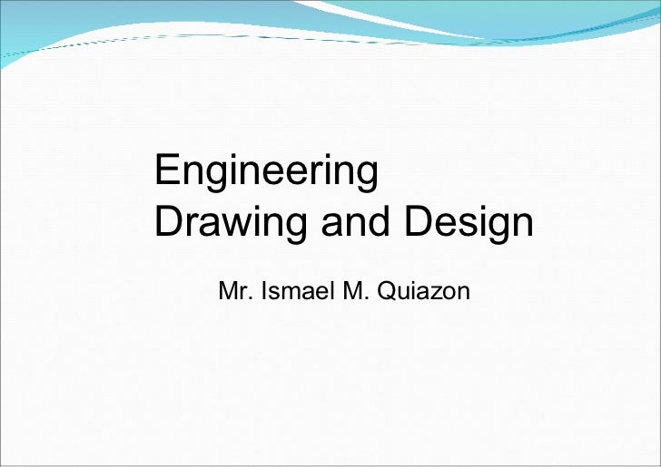 Basic Engineering Drawing Engineering Drawing And Design