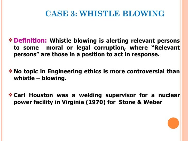 a definition of whistle blowing Definition of whistle blowing in the financial dictionary - by free online english dictionary and encyclopedia what is whistle blowing meaning of whistle blowing as.