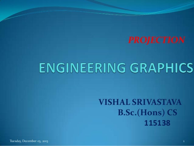 Engineering graphics(orthographic projection)
