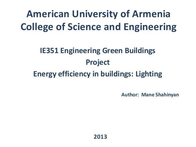 Ie351 Engineering Green