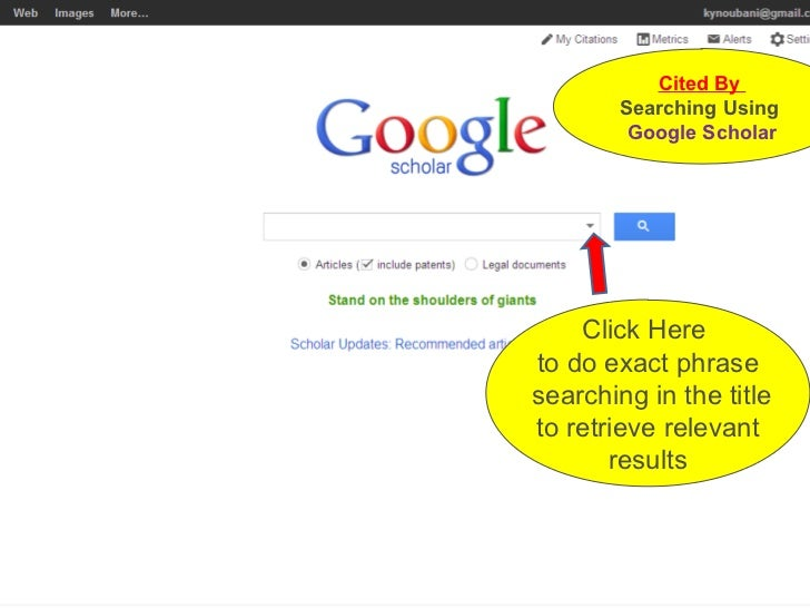 google dissertations search Search the scholarly web to discover articles, books, and more from academic publishers and research institutions.