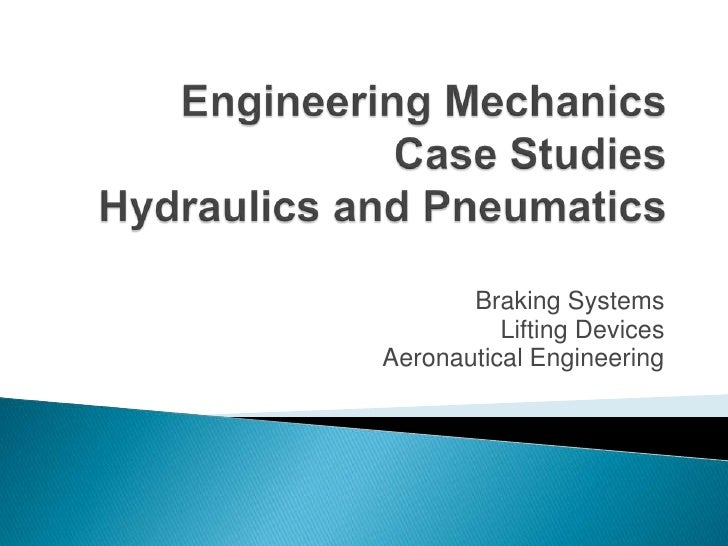 Engineering mechanics powerpoint fluid mechanics