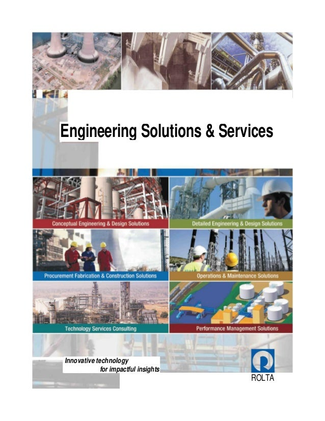 ROLTA Engineering Solutions & Services Innovative technology for impactful insights