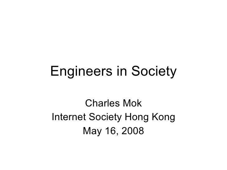 engineer in the society