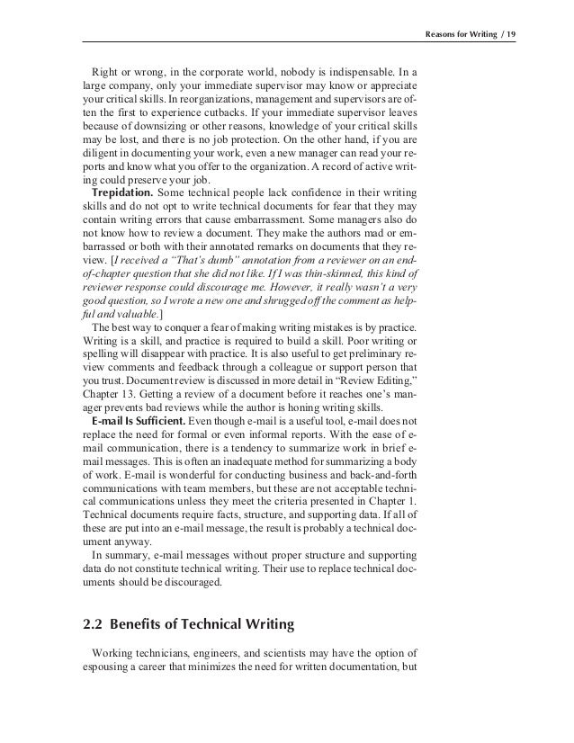 Technical writing service for engineers and scientists