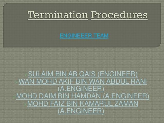 ENGINEEER TEAM  SULAIM BIN AB QAIS (ENGINEER) WAN MOHD AKIF BIN WAN ABDUL RANI           (A.ENGINEER)MOHD DAIM BIN HAMD...