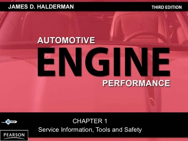 Service Information, Tools & Safety chapter_1_part1_lecture_notes