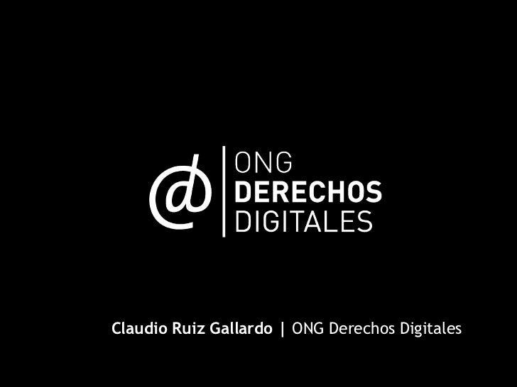 """""""La economía de lo free"""", en EngineUp, por Derechos Digitales"""