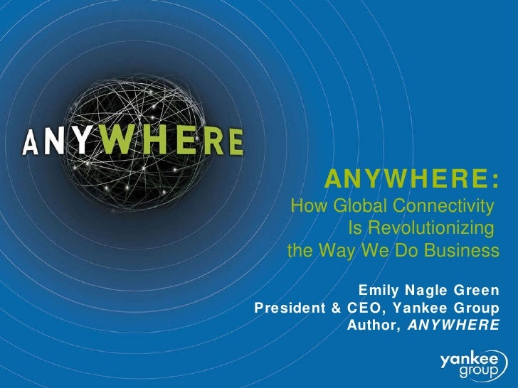 Introducing ANYWHERE, the book