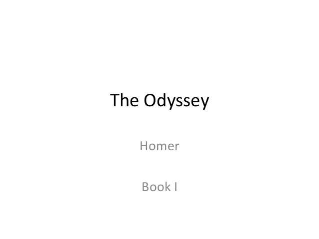 The Odyssey Homer Book I