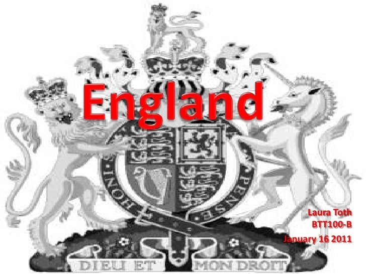 England<br />Laura TothBTT100-B<br />January 16 2011<br />