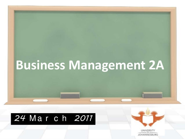 By PresenterMedia.comBusiness Management 2A24 M a r c h 2011