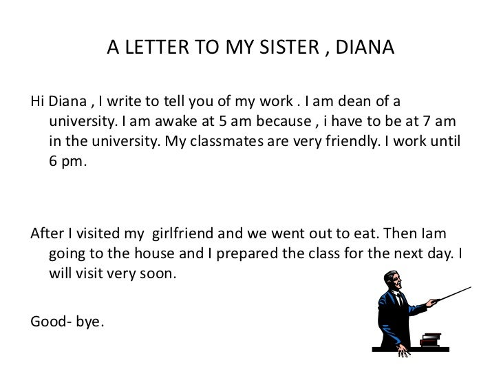 a letter to my sister As i watched cindy read a book to her, i thought: my sister has freckles  had  facilitated my adoption to forward a letter to my adoptive family.