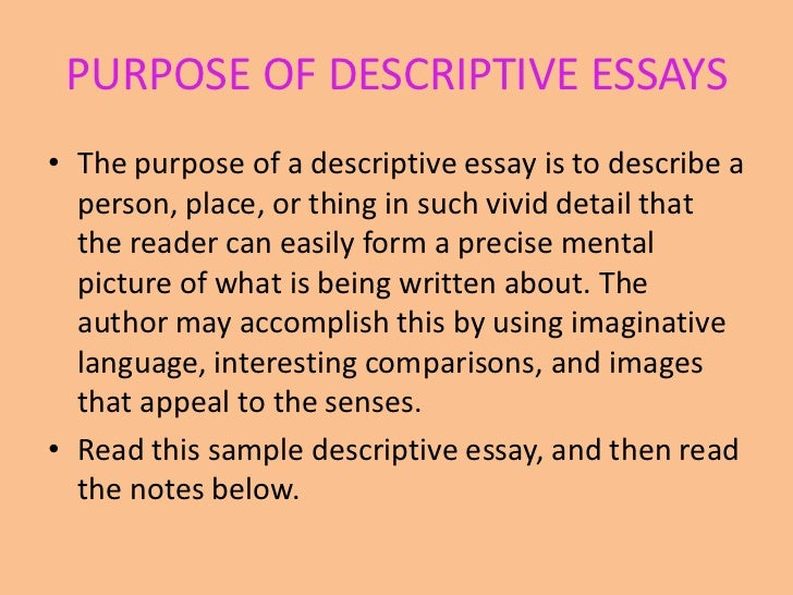 descriptive essay noisy place