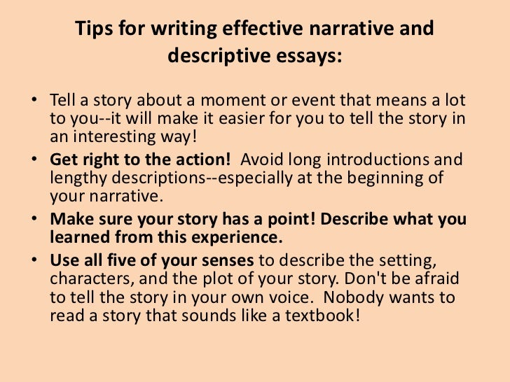 How to write a descriptive essay about a person - Online Writing ...
