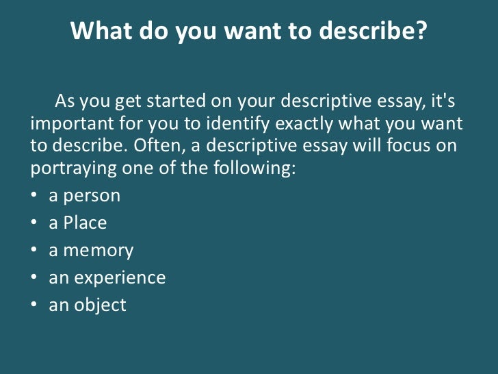 You've settled on an idea for an essay to write. What should you do next?