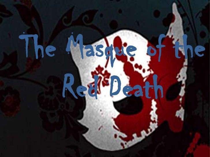 essay symbolism masque red death