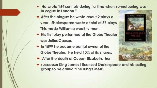 William Shakespeare contributions