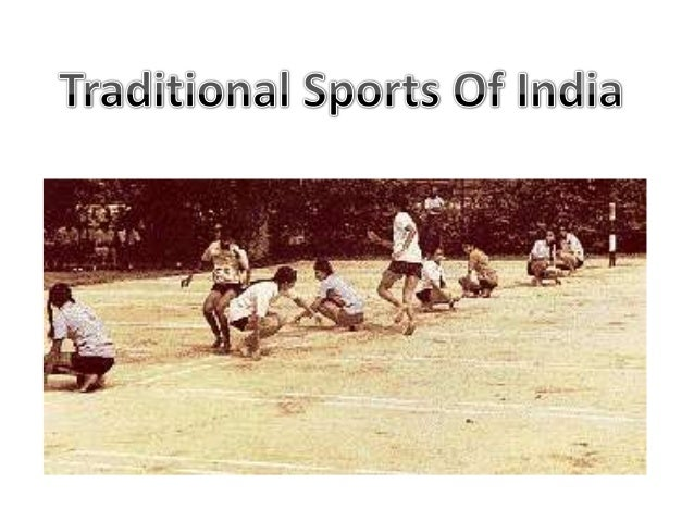 traditional sports of india