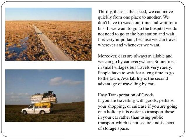 travelling disadvantages essay