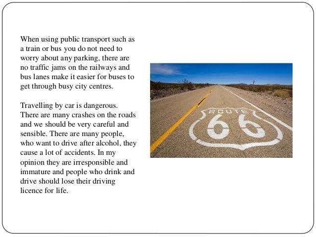 essay about public transportation