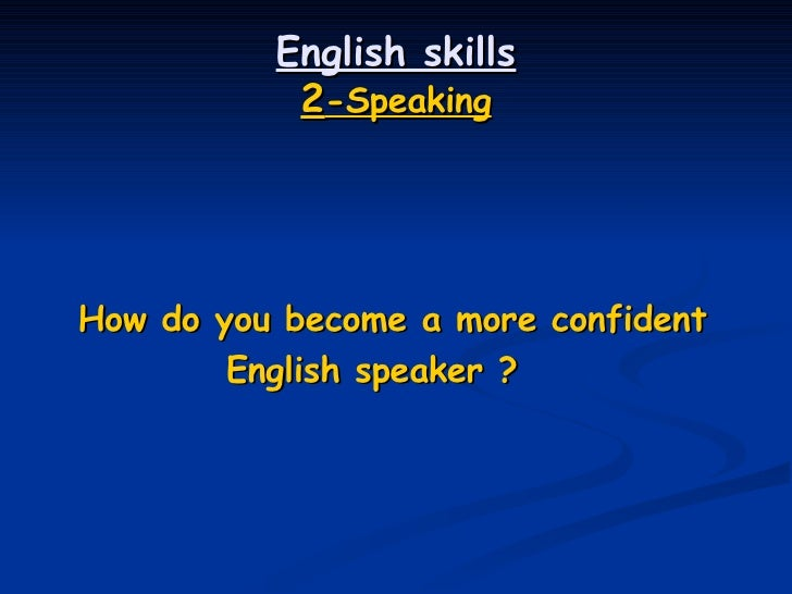 How can I become better at the English language?