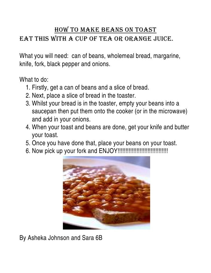 english breakfast beans recipe