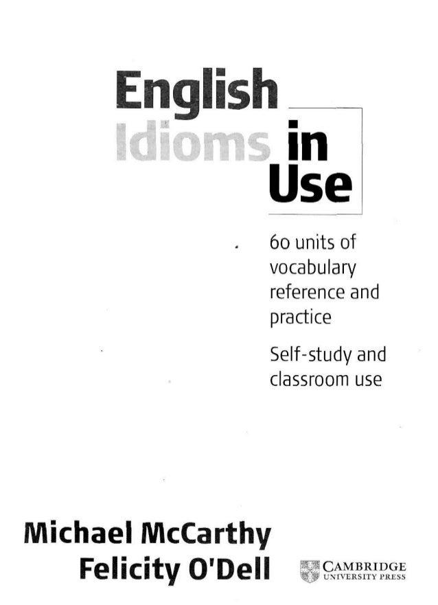 English idioms-in-use