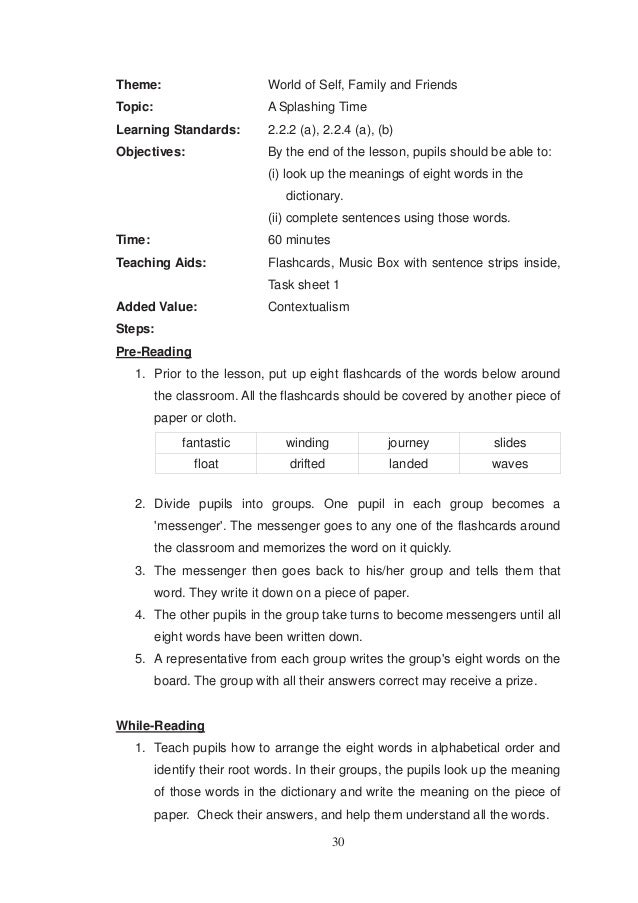 english form 4 short essay