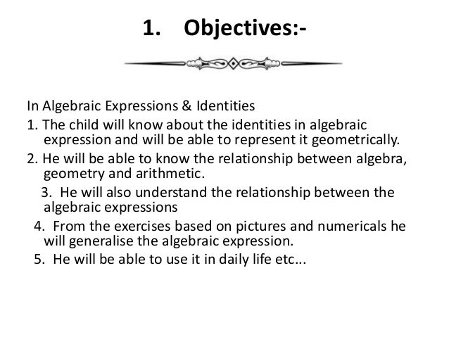 Algebraic Expressions And Identities Worksheets Grade 8 1874541