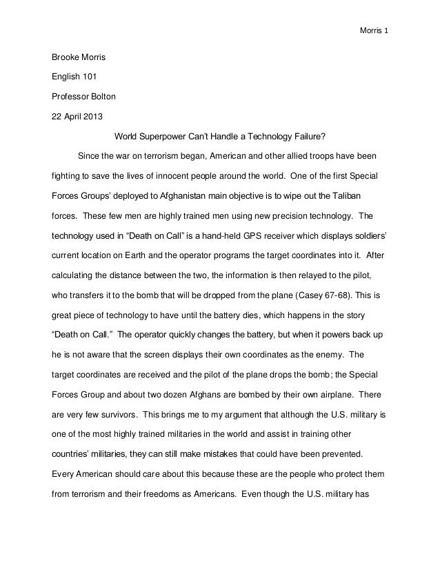 College Essays - Topics for english research papers