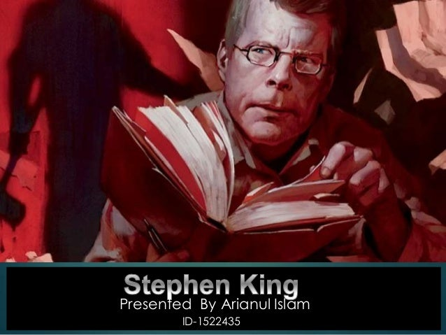 the biography of stephen king While writer stephen king was recovering from a near-fatal car accident,  in a 2000 interview on fresh air, king described his life-changing.