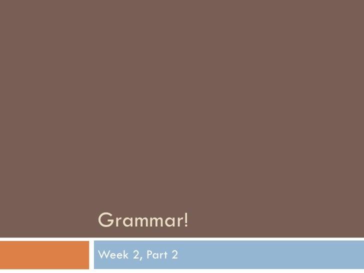 English150 Week2 Part2
