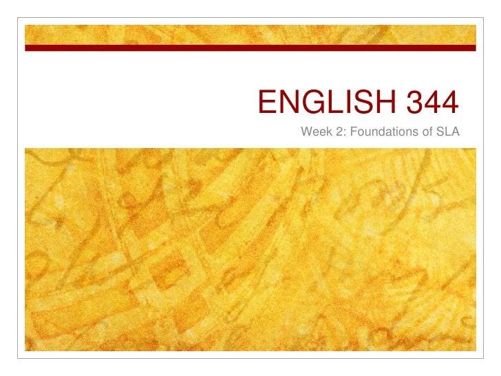 English 344 week 2