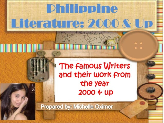Who is this Female Filipino writer?