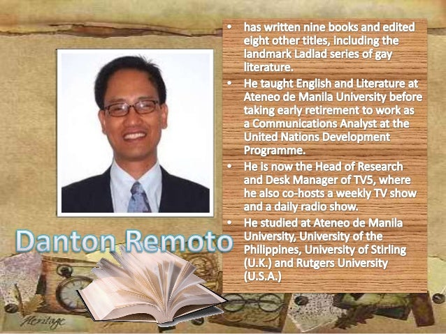 famous filipino essay writers and their works