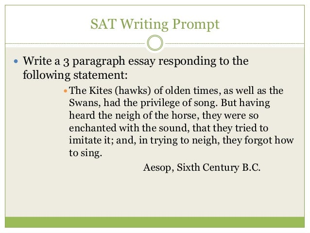 sat essay prompts. 10.07 Free new act sample essay prompts the new act essay vs the new sat essay looking for awesome act prep for free check out our free course here.