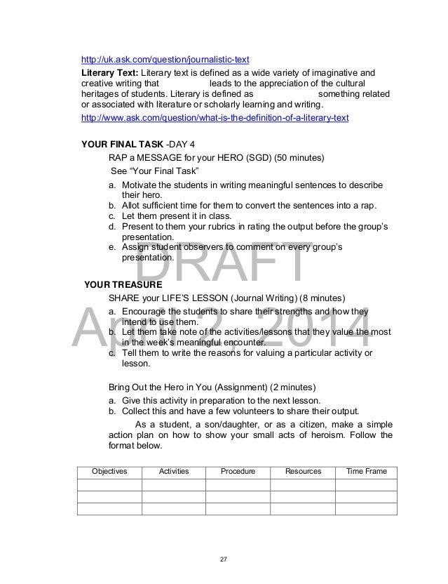 English 12 Sample Essays