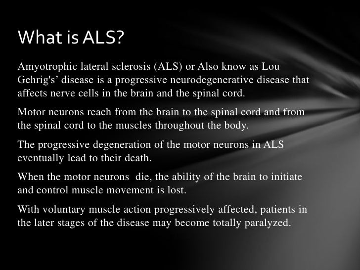 the difficulties of living with amyotrophic lateral sclerosis als in tuesdays with morrie a memoir b Are you an expat relocating to or living in germany and looking for a job search expatica jobs for a selection of english speaking and multi language jobs in sales.