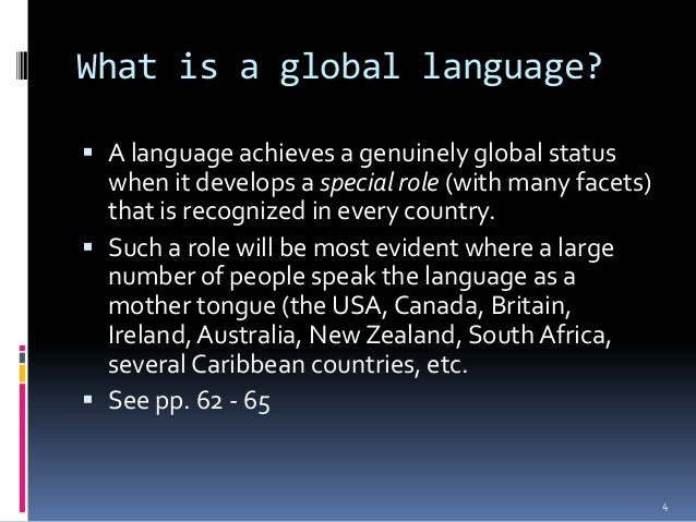 english as the global language English as a global language second edition davidcrystal,worldauthorityontheenglishlanguage,presentsalively andfactualaccountoftheriseofenglishasagloballanguageandex.