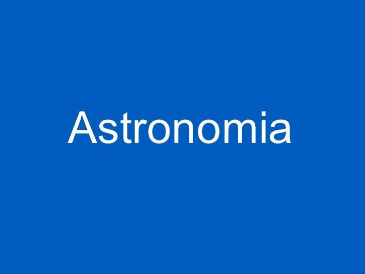 Atronomia