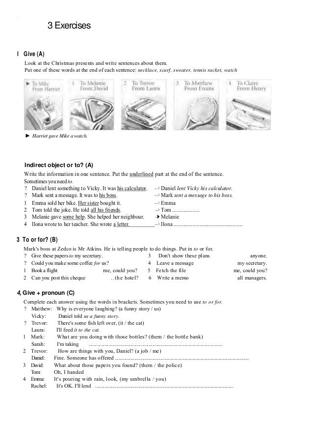english exercises for grade 4